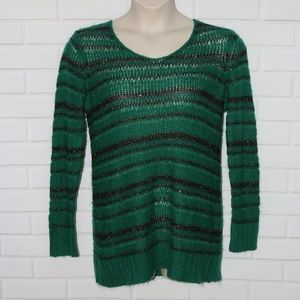 Motherhood Maternity Sz XL Striped Sweater